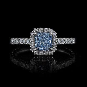 light-blue-diamond-engagement-rings