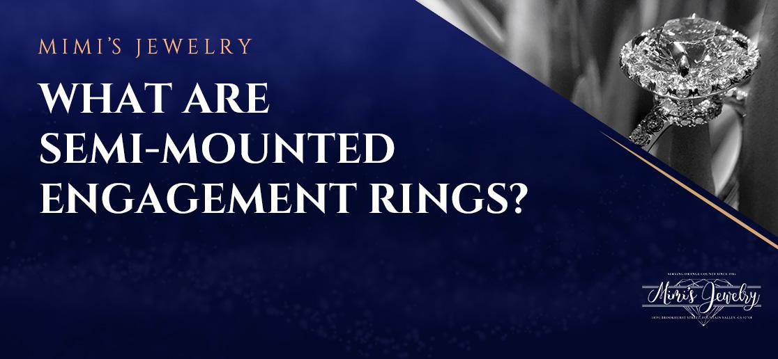 Semi-Mounted Engagement Ring