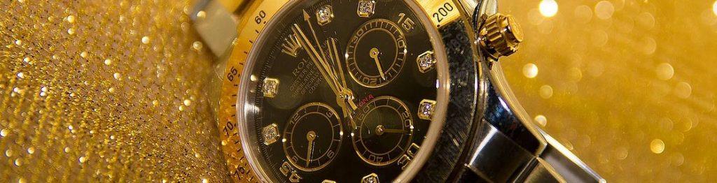 Diamond Bezel Rolex Watch